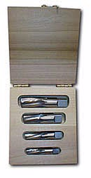 Size: #47 Straight Flute Uncoated Finish Round Shank Alvord Polk 128-0 Cobalt Steel Chucking Reamer